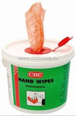 CRC Hand wipes professional 100 — Салфетки для рук